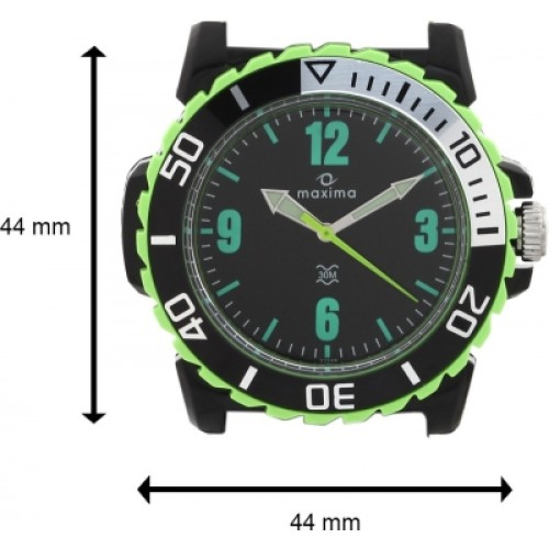 57003b33f Maxima 33268PPGN Drone Analog Watch - For Men