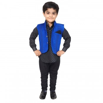 Dhoti Pant with Waistcoat for Boys
